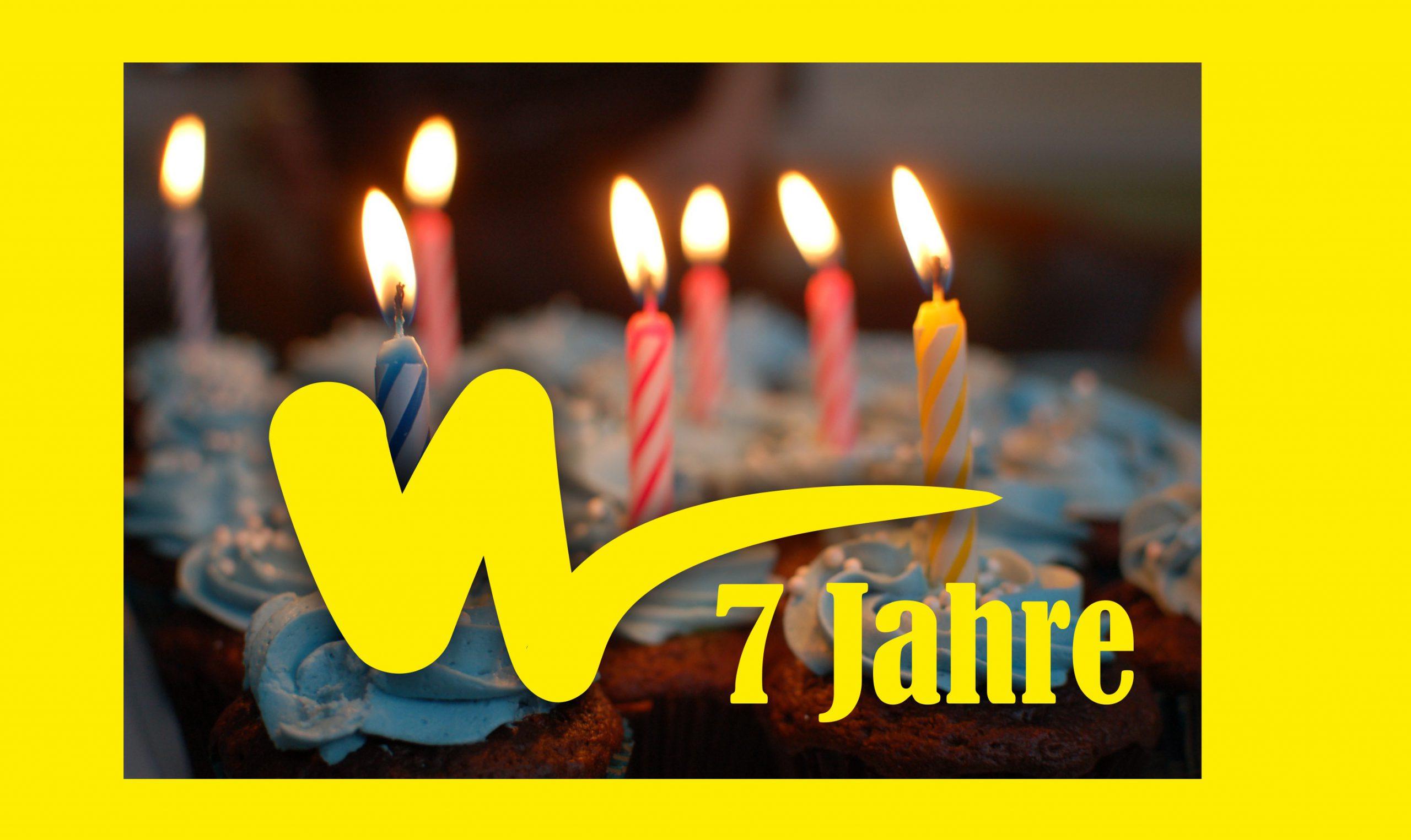 Das verflixt tolle siebte Jahr: MW feiert Geburtstag